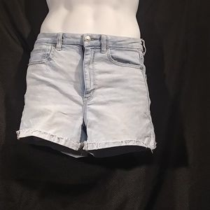 American Eagle High Rise Denim Shorts